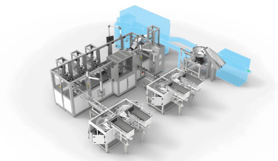 Production line POC Antigen Test front